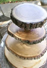 Wooden Cake Stands Cup Stand By Party Slab Australia Celebrations Rustic