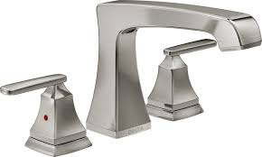 Delta Windemere Bathroom Faucet by Faucet Com T2764 Ss In Brilliance Stainless By Delta