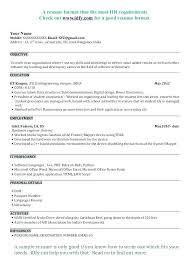 Fresher Resume Formats Civil Engineering Student Resumes Fancy Format With Additional Inside College Examples