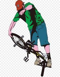 Bicycle Pedal Flatland BMX Bike Clip Art