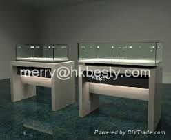 Solid Wood Display Cases For Luxury Jewelry