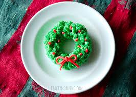 Rice Krispie Christmas Tree Ornaments by Fun Christmas Rice Krispie Treats To Make Crafty Morning