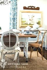 Painting Dining Room Table Set With Chalk Paint Chairs Ideas