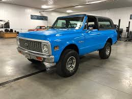 100 Blazer Truck 1972 Chevrolet K5 4Wheel ClassicsClassic Car And