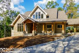 100 Mountain House Designs Plan 26706GG Rugged Plan With Breezeway