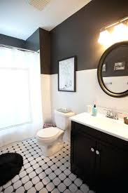 bathroom black tiles tile floor with buildmuscle