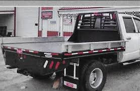 custom truckbeds for specialized businesses and transportation