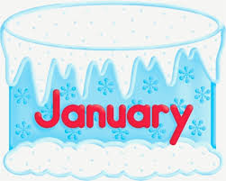 Birthday Cakes For January Cake Clipart January Pencil And In Color Cake Clipart January