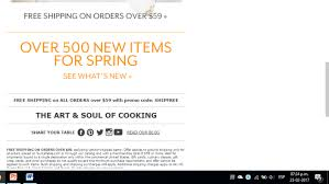 Sur La Table Coupon 10 Off / Hood Milk Coupons 2018 Best Online Deals And Sales Every Retailer Running A Sale Wning Picks20 Off Customer Favorites Sur La Table La Table Stores Brand Deals Sur Babies R Us Ami Need Help Using Your Coupon Ask Our Chefs 15 November 2019 Bakingshopcom How To Find Uniqlo Promo Code When Google Comes Up Short Sur_la_table Twitter Apply Promo Code Or Coupon In Uber Eats Iphone Ios App