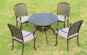 Cast Aluminum Outdoor Sets by Attractive Cast Aluminium Patio Furniture Online Get Cheap Cast