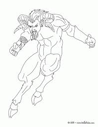 Printable Satyr Greek Mythology Coloring Page Vd Source