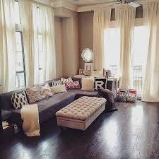 Living Room46 Beautiful Room Curtains Magnificent Vaulted Ceilings 46