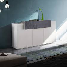 ahd amazing home design sideboard 3 flügeltüren 1 klappfach modernes design corona side report