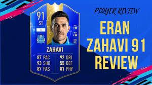 100 Zahavi Eran TOTS 91 REVIEW FIFA 19