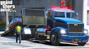 100 Gta Tow Truck New Series Another Day At Work 1 GTA 5 Real Life Mod Repo