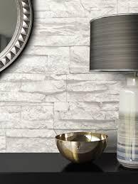 steintapete ziegelstein grau vlies modern natur jung modern mauer stein vallum weiß