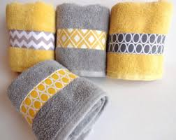 Yellow Grey Bathroom Ideas by Yellow And Grey Bath Towels Yellow And Grey Yellow And Gray