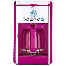 Bella Linea Collection 12 Cup Coffee Maker PINK