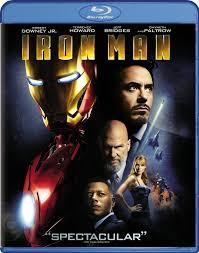 100 Blu Home Video Iron Man Film Marvel Cinematic Universe Wiki FANDOM