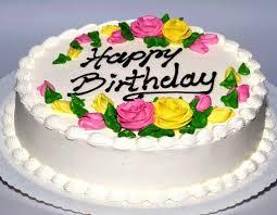 Happy Birthday Flower With Cake Flower Cake Inside Birthday Cake Ideas With Roses