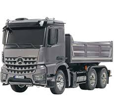 100 1 4 Scale Rc Semi Trucks Tamiya MercedesBenz Arocs 338 6x Tipper RC Truck Kit 56357