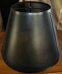 metal mesh lamp shade – dohdlohsnte