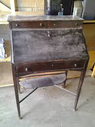 Drop Front Writing Desk by Vintage Industrial Cabinets Aladdin Lamps Bikes U0026 Housewares In