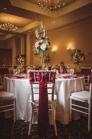 Elegant And Trendy Marsala Colored Fall Wedding