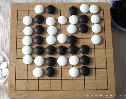 9x9 Wood Board Used As Go Baduk WeiQi Rectangular