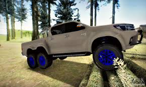 100 Toyota Artic Truck Hilux Arctic S 6x6 For GTA San Andreas