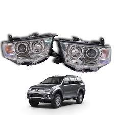 Head Lamp by Mitsubishi Pajero Headlights Ebay