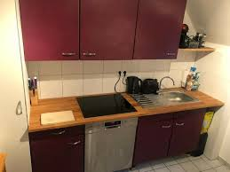 küche ohne e geräte selbstabholer abbau