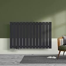 design heizkörper wandheizkörper flach 630x1000mm designer heizung horizontal einlagig seitenanschluss 762 watt anthrazit radiator