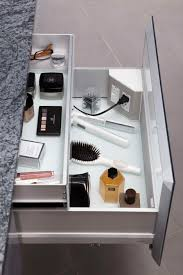 Bathroom Vanity With Built In Makeup Area by In The Drawer Electrical Outlets For Bathroom Drawers U0026 Vanities