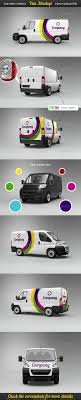 100 Ups Truck Dimensions Vehicle Wrap Mockups From GraphicRiver