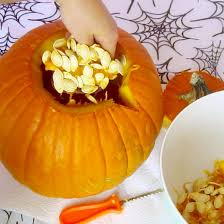 What Kinds Of Pumpkins Are Edible by Video How To Carve A Cupcake Jack O Lantern Diy Cupcake Pumpkin