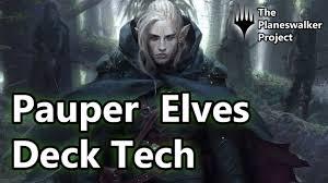 Best Pauper Edh Decks by Pauper Elves Mtg Deck Tech 2016 Youtube