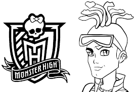 Monster High Coloring Pages 001 002
