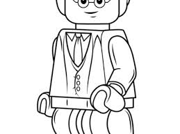 Lego Harry Potter Coloring Page Free Printable