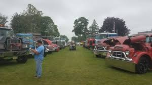 100 Show Semi Trucks Classic Leaving The 2017 ATCA Truck Macungie PA