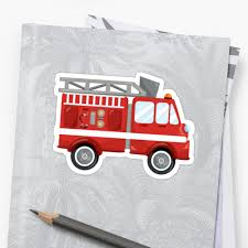 Red And White Fire Truck