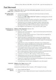 Criminal Justice Resume Samples Awesome Additional Skills For Examples Of Resumes F