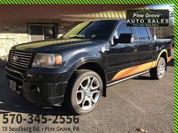 100 Ford Harley Davidson Truck For Sale 2008 F150 Pine Grove PA Pine Grove Auto
