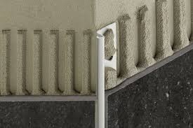 schluter皰 deco de edging outside wall corners for walls