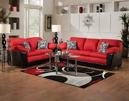 Red And Black Themed Living Room Ideas by Living Room Decorating Ideas Red And Black Interior Design