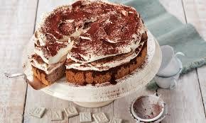 tiramisu torte mit löffelbiskuit
