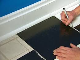 Laying Vinyl Tile Over Linoleum by How To Install Vinyl Tiles Hgtv