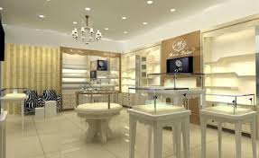 A Concept For Modern Jewelry Store Interior Design And Display Ideas