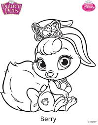 Princess Palace Pets Berry Coloring Page By SKGaleanadeviantart On DeviantArt