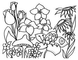 480x370 Flower Garden Clip Art Black And White – 101 Clip Art